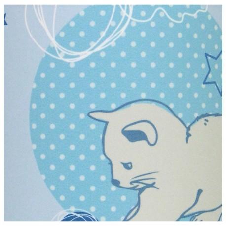 Tableau Lumineux chambre bébé Lovely Cat
