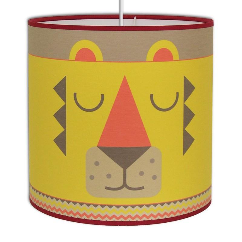 suspension jungle chambre enfant le lion le roi de la savane. Black Bedroom Furniture Sets. Home Design Ideas