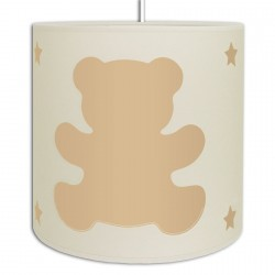 Suspension oursons couleur Beige