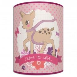Applique chambre bébé fille - Bambi