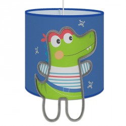 suspension Capitaine Croco pour chambre bébé theme pirate