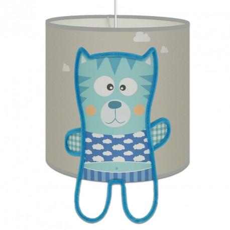 Minou suspension grise pour chambre bébé