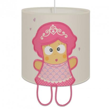 luminaire chambre fille princesse