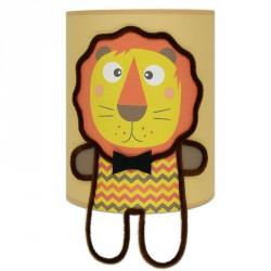 lampe chambre enfant lion