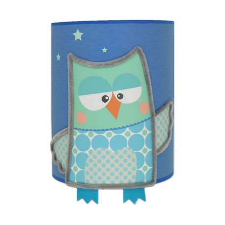applique loulou le hibou pour chambre b b. Black Bedroom Furniture Sets. Home Design Ideas