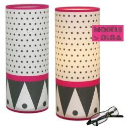 Lampe Olga déco noir et blanc