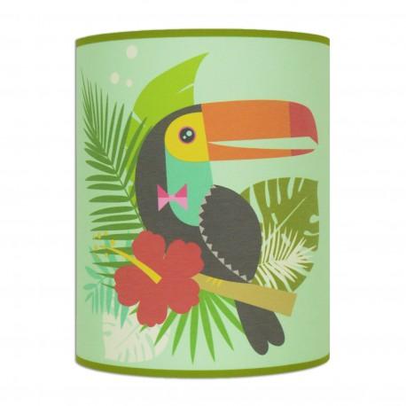 Ambiance couleur tropicale applique murale Toucan