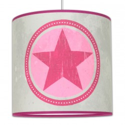 Suspension chambre ado star girl