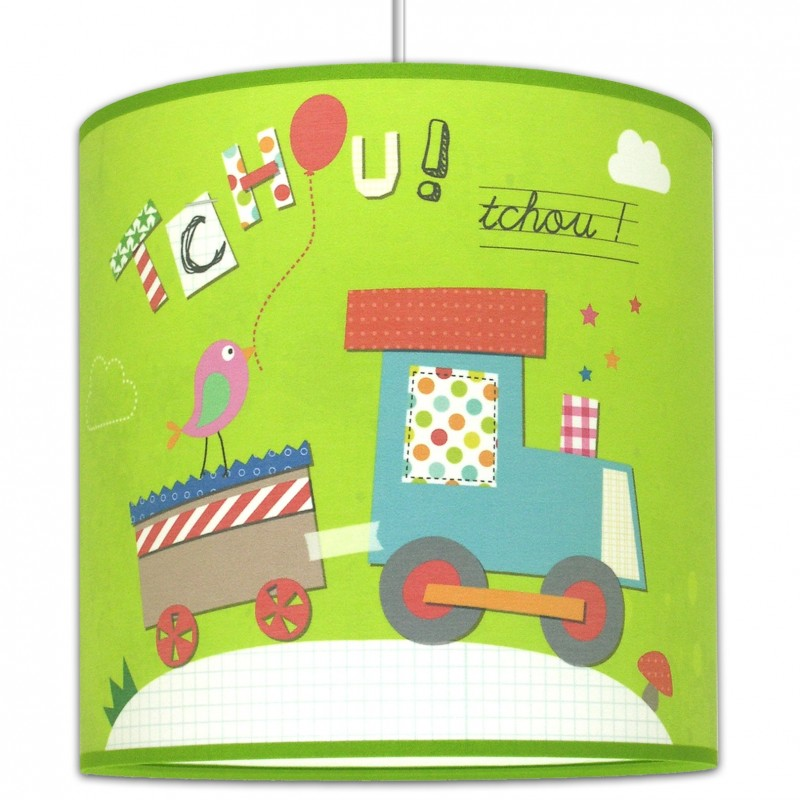 Tchou tchou suspension enfant train for Suspension chambre d enfant