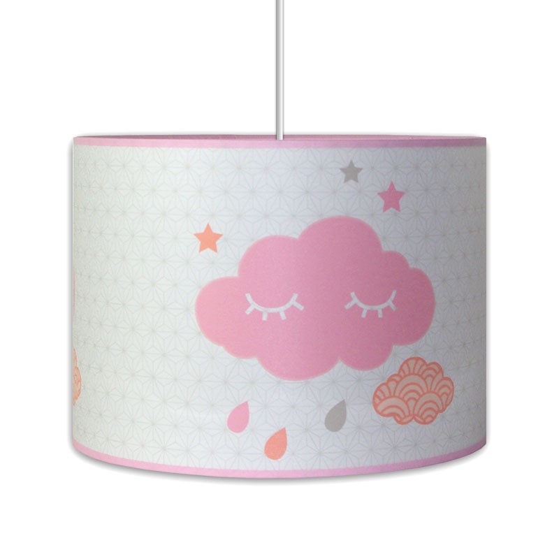 luminaire nuage pour chambre b b fille. Black Bedroom Furniture Sets. Home Design Ideas