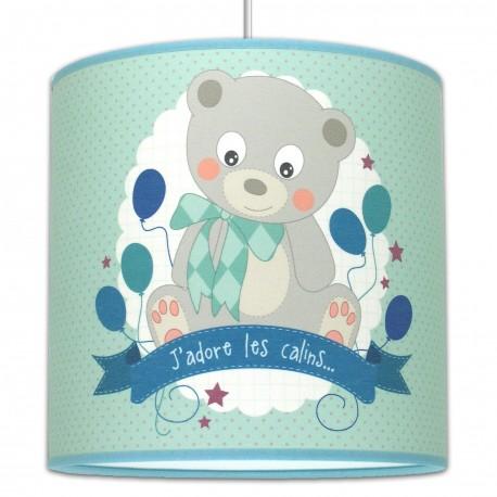 Suspension ourson luminaire chambre b b - Suspension chambre enfant ...