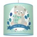 Suspension luminaire chambre bébé Ourson