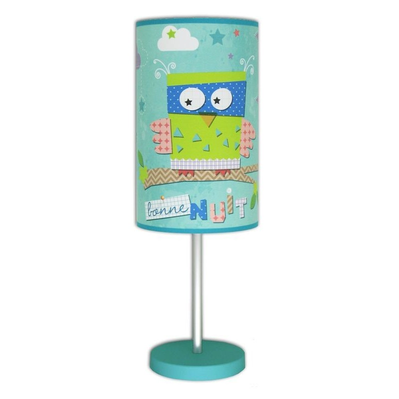 c 39 chouette lampe hibou pour chambre b b. Black Bedroom Furniture Sets. Home Design Ideas