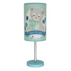 Luminaire bébé Ourson bleu