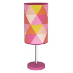 lampe déco - Triangle Rose