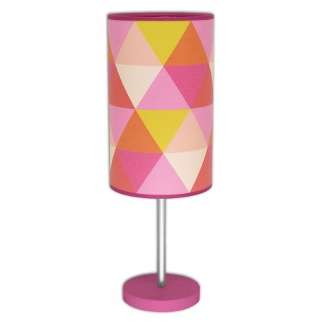 Luminaire déco Triangle Rose