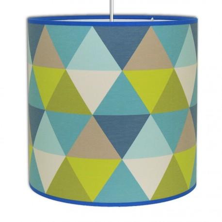 Suspension design Triangle Bleu
