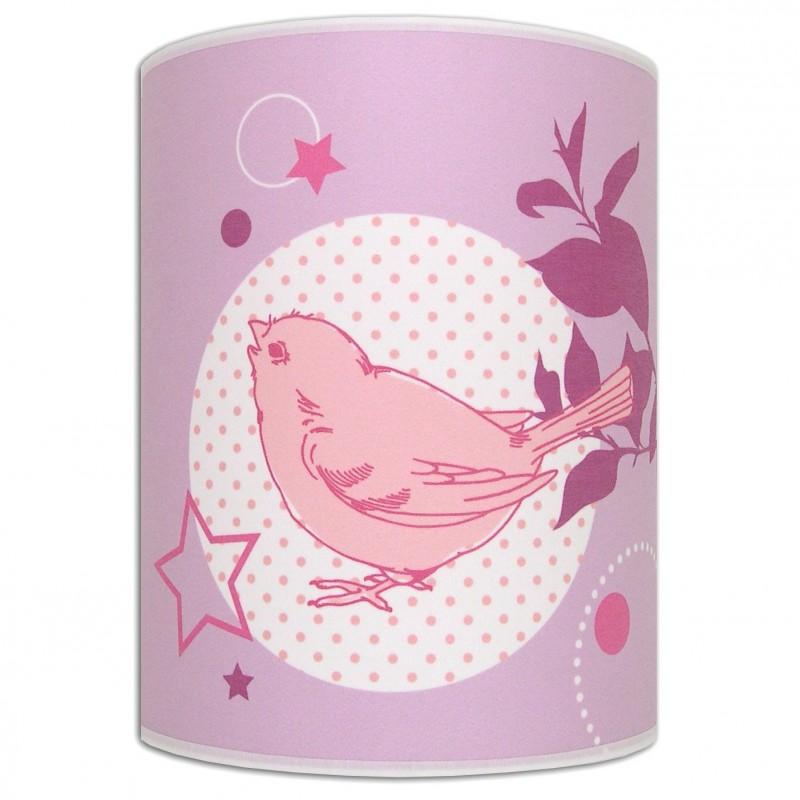 Lovely Bird luminaire chambre fille