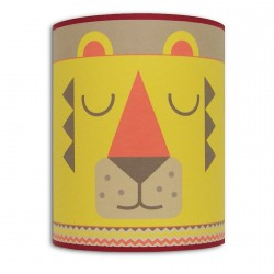 Frimousse applique murale Lion