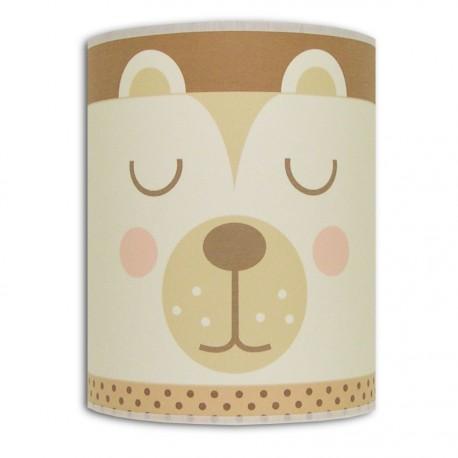 Applique petit Ours brun et beige