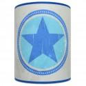 Applique étoile bleu chambre garçon