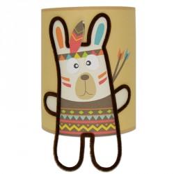 Anoki le petit indien applique décoration bébé garçon