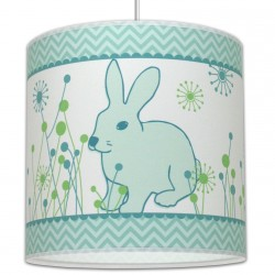 Suspension enfant lapin
