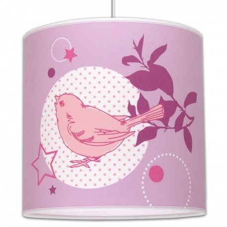 Suspension chambre fille lovely bird