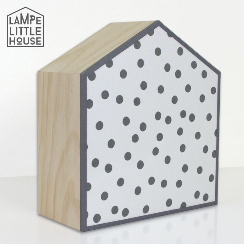 Lampe style scandinave pour chambre enfant d co r tro noir et blanc for Deco chambre noir et blanc