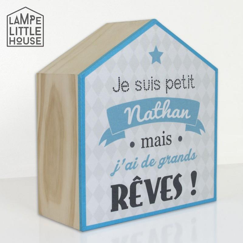 Lampe De Chevet Personnalisee Au Prenom De Votre Enfant