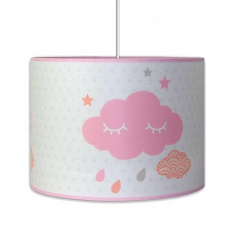 Luminaire nuages chambre bébé