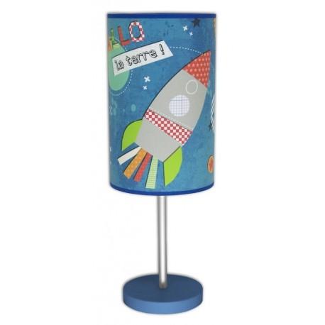 Lampe Fusée - Içi la Lune